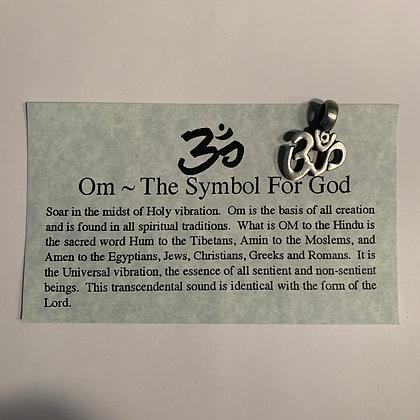 OM Pendant- The Symbol For God