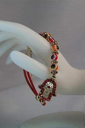 Love Uncrossing Hamsa & Evil-Eye Bracelet