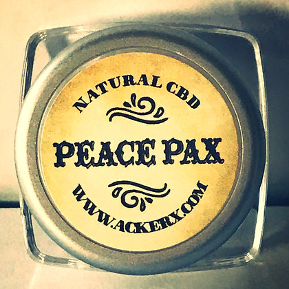 Peace & Pax Temple Balm Calming Stress All Natural