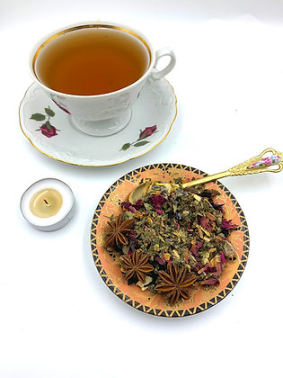 PSYCHIC Meditation Divination Organic Loose-Leaf Tea