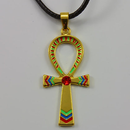 The Egyptian Ankh Cross Pendant Necklace Amulet