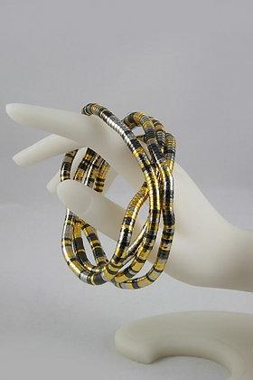 """""""Darria"""" Multi Color Free Wrap Necklace/Bracelt"""