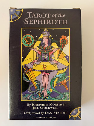 TAROT OF THE SEPHIROTH New Sealed