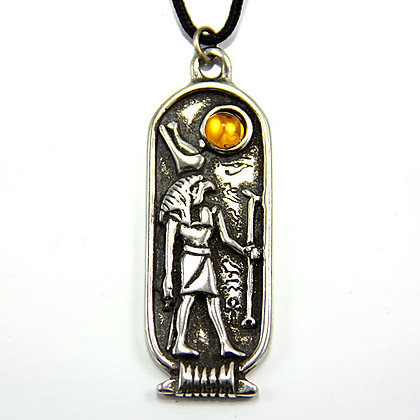 God Horus Egyptian Amulet Necklace Pendant
