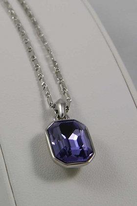 """""""Evelina""""Amethist Crystal Pendant"""