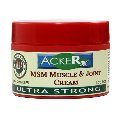 All Natural MSM Muscle & Joint Cream Ultra Strong