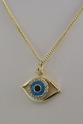 """Eye Of Protection"" AAA Zircon Pendant"