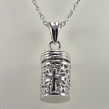 """My Small Secret"" Hollow Out Amulet Bottle"