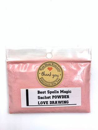 LOVE DRAWING Sachet Powder
