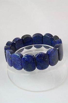"""Kita"" Genuine Lapis Lazuli Stretch Bracelet"