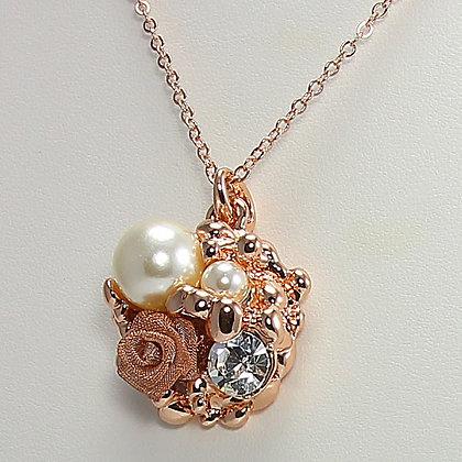 Rose Garden Pendant Necklace