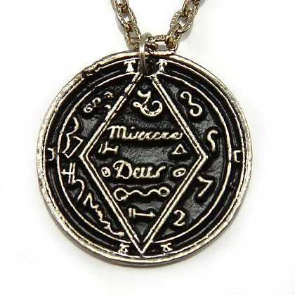 Gives Knowledge Talisman Silver Tone
