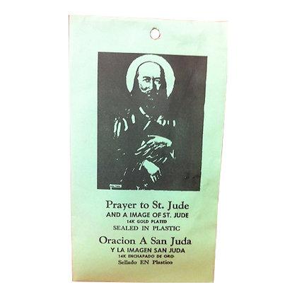 Saint Jude Patron of Desperate Cases Talisman