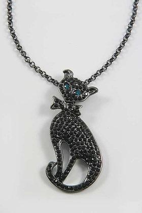 Black Cat Lucky Necklace