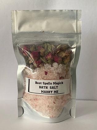 MARRY ME Herbal Bath Salt Spell