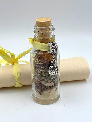 Old Witch Secret MONEY & PROSPERITY Spell Bottle