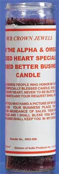 """""""Better Business Sacred Heart""""  One Candle Spell"""