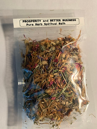 PROSPERITY & BETTER BUSINESS Herb Bath