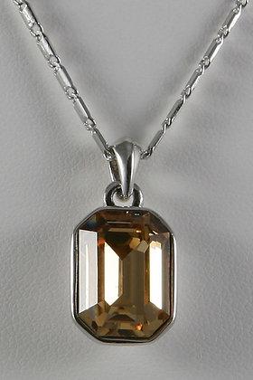 """Imelda""Light Colorado Topaz Crystal Pendant"