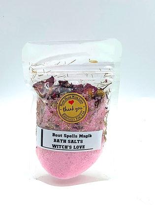 WITCHES LOVE Ritual Bath Salt