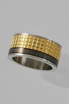 """Lamar""Titanium Movable Ring"