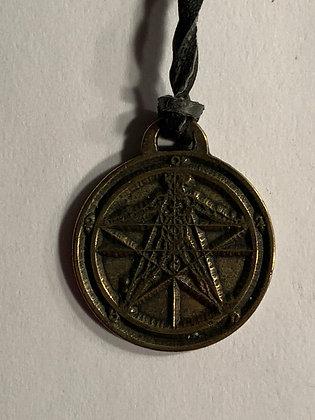 Agrippa's Pentagram Amulet Necklace