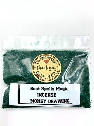 MONEY DRAWING Powder Incense