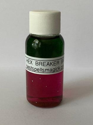 HEX BREAKER Spiritual Bath and Floor Wash Oil