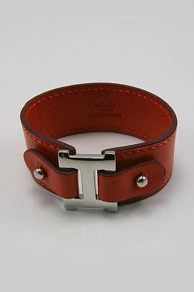"""""""Garion"""" Titanium & Leather Bracelet"""
