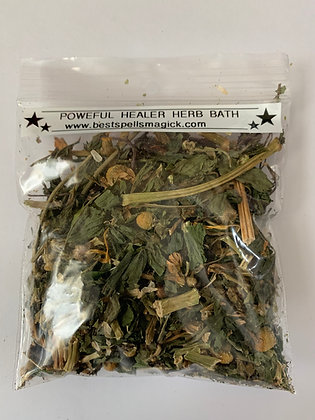 POWERFUL HEALER Herbal Aromatic Bath