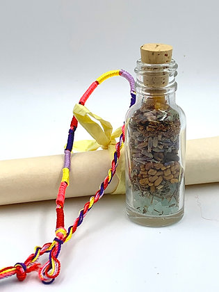 Old Witch Secret WISH COME TRUE Bottle Spell