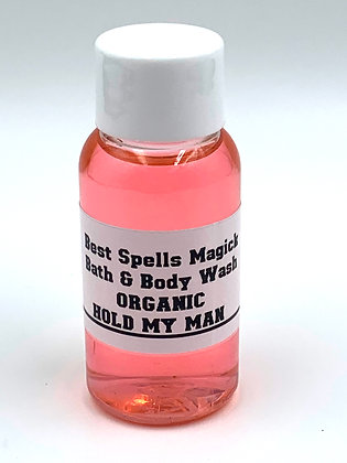 HOLD MY MAN Organic Spiritual Blessed Gel Body Wash