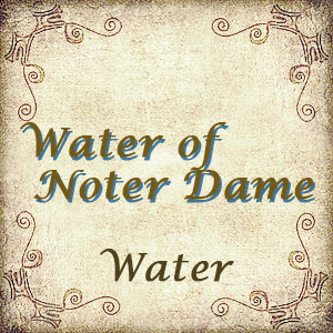 Water of Noter Dame