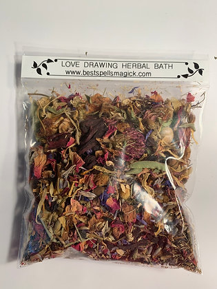LOVE DRAWING Herbal Spell and Bath Blend