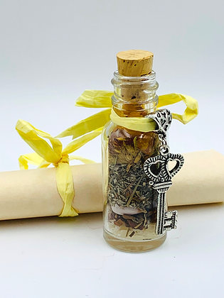 Old Witch Secret CROWN OF SUCCESS Bottle Spell
