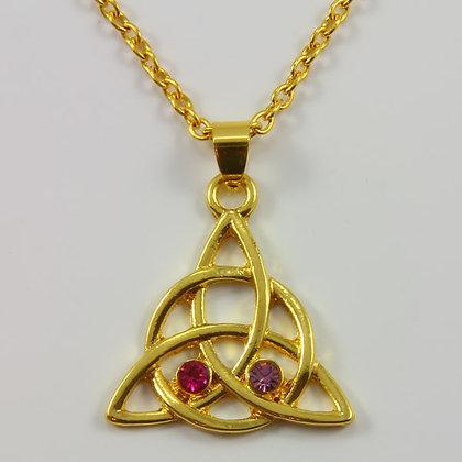 Celtic Triquetra Symbol Pendant Amulet