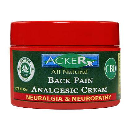 Hemp Back Pain Analgesic Cream (No Capsicum No Menthol)