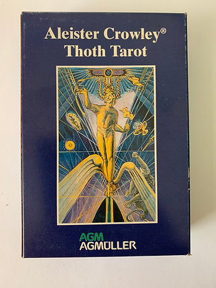 Aleister Crowley THOTH Tarot Deck 1983 by Weiser