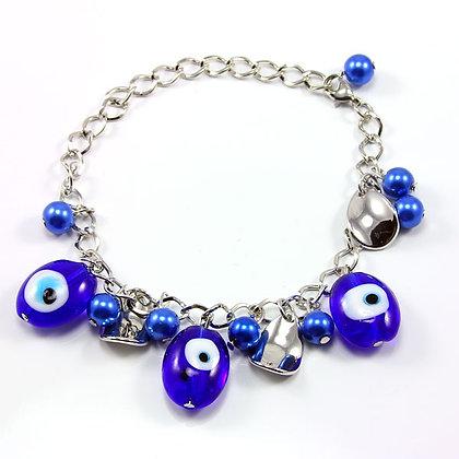 SEVERA Evil Eye Beads Protection Bracelet
