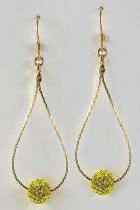 """Oshun"" 18K Yellow Gold Plated Earrings"