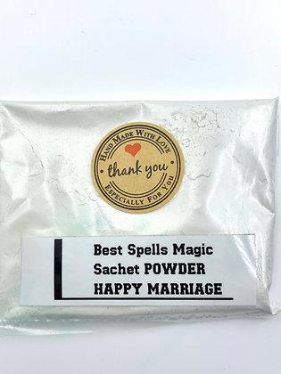 HAPPY MARRIAGE Sachet Powder