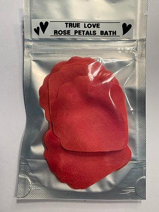 TRUE LOVE Rose Petals Soap Bath