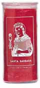 Saint Barbara 7 Day Saint Candle