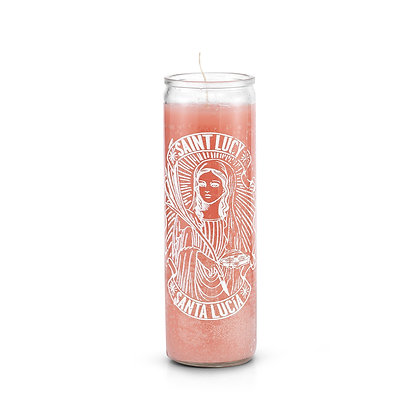 Saint Lucy 7 Day Saint Prayer Candle