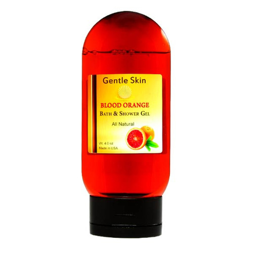 All Natural Blood Orange Bath Shower Gel