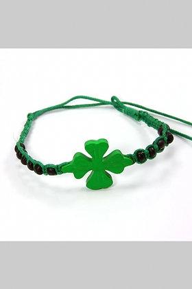 Good Luck Clover Bracelet