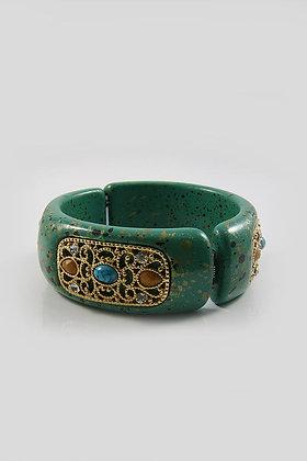 """Annabella"" Filigree Bangle Bracelet"