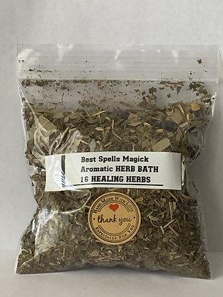 16 HEALING HERBS Spell & Bath Herbal Blend