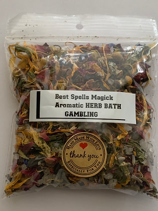GAMBLER Aromatic Herb Bath