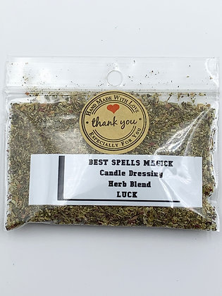 LUCK Candle Dressing Herb Blend
